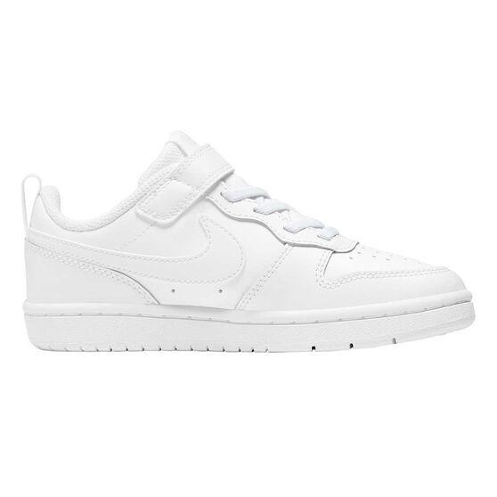 Nike Court Borough Low 2 Kids Casual Shoes US 3 White, , rebel_hi-res