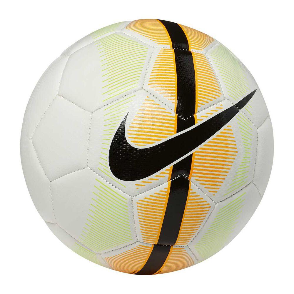 13854417b0663 Nike Mercurial Veer Soccer Ball White   Orange 5