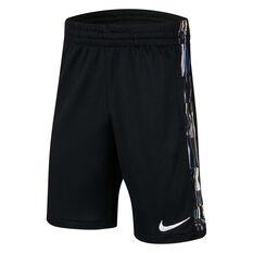 Nike Boys Trophy Printed Training Shorts Black XS, Black, rebel_hi-res