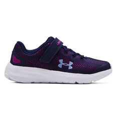 Under Armour Charged Pursuit 2 Kids Running Shoes Navy US 11, Navy, rebel_hi-res