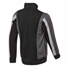 Nike Jordan Tricot Track Jacket Black / Grey S, Black / Grey, rebel_hi-res