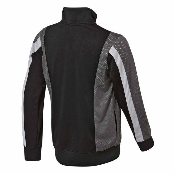 Nike Jordan Tricot Track Jacket, Black / Grey, rebel_hi-res