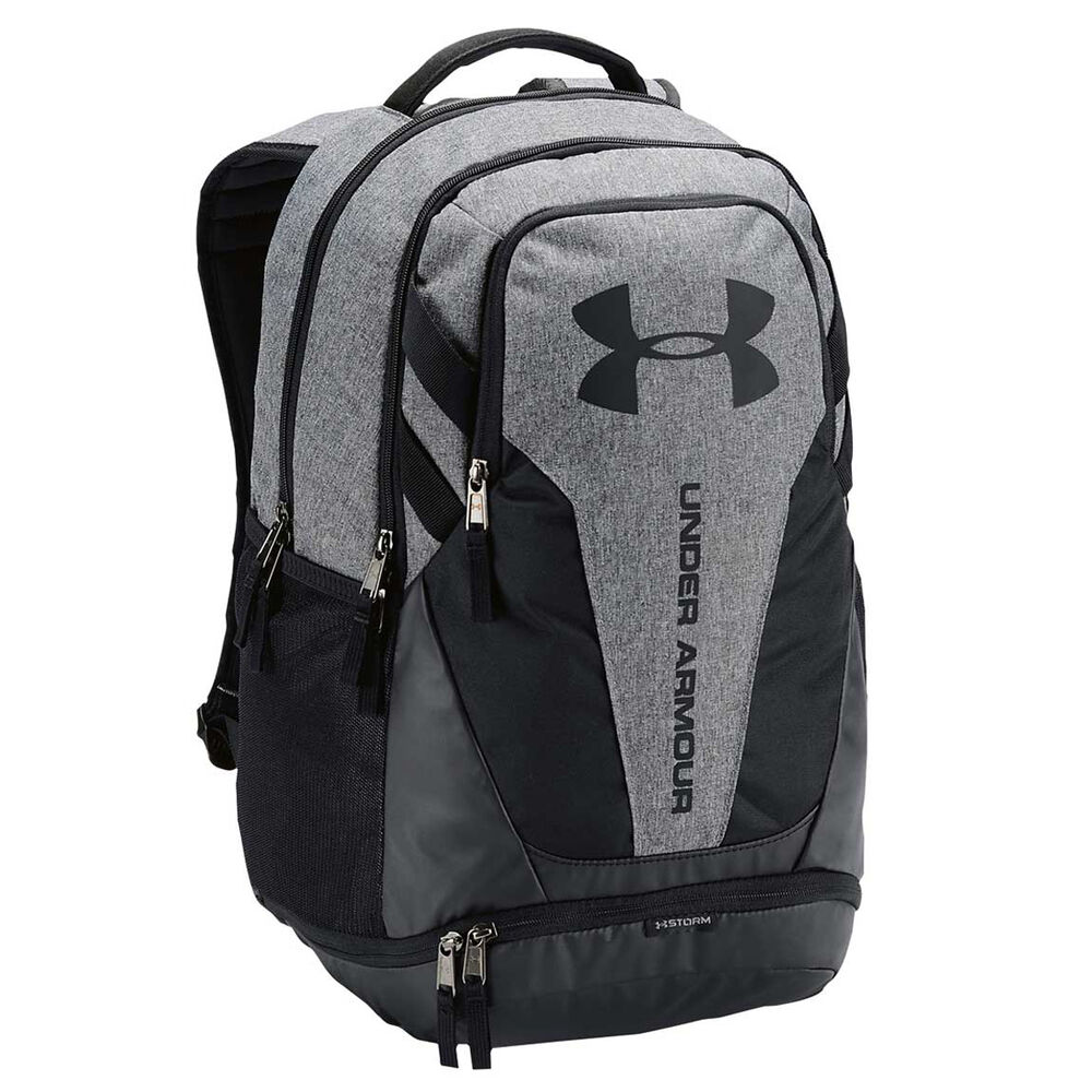 8a721d63b194 Under Armour Hustle 3.0 Backpack Grey   Black