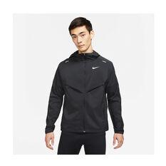 Nike Mens Windrunner Jacket Black S, Black, rebel_hi-res