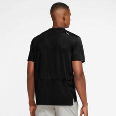 Nike Mens Rise 365 Wild Run Graphic Tee Black S, Black, rebel_hi-res