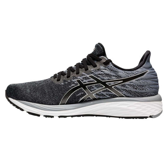 Asics GEL Cumulus 21 Knit Mens Running Shoes, Black/Silver, rebel_hi-res