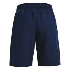 Under Armour Boys Woven Shorts Navy XS, Navy, rebel_hi-res