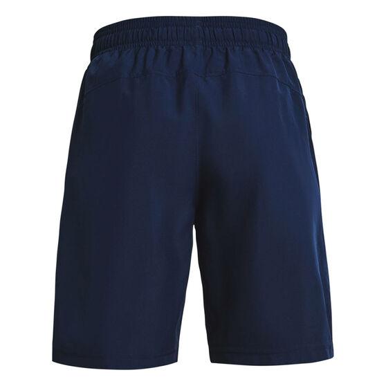 Under Armour Boys Woven Shorts, Navy, rebel_hi-res