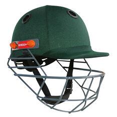 Gray Nicolls Elite Junior Cricket Batting Helmet, Green, rebel_hi-res