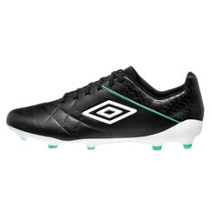 Umbro Medusae III Pro Football Boots Black / White US Mens 7 / Womens 8.5, Black / White, rebel_hi-res