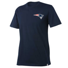 New England Patriots Mens Drimer Tee Navy S, Navy, rebel_hi-res
