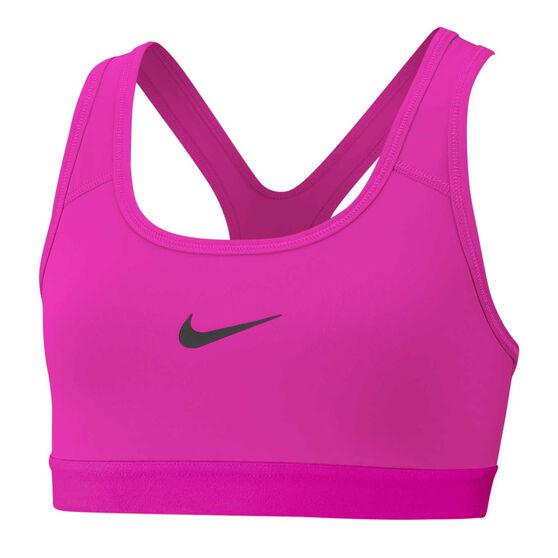 Nike Girls Sports Bra, Pink, rebel_hi-res
