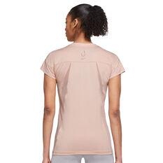 Nike Womens Dri-FIT Run Division Tee Pink XS, Pink, rebel_hi-res