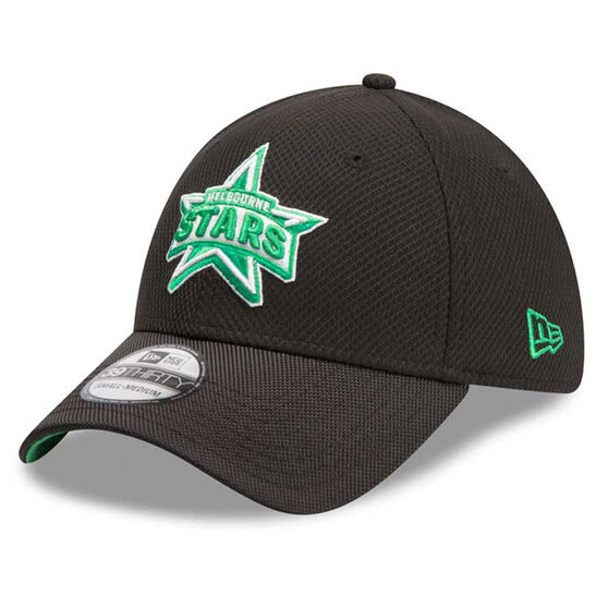 Melbourne Stars New Era 39THIRTY Training Cap, Green, rebel_hi-res