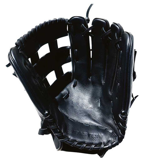 Easton Paragon Cowhide RHT Softball Glove, Black, rebel_hi-res