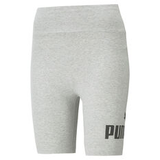 "Puma Womens Essentials 7"" Shorts Grey XS, Grey, rebel_hi-res"