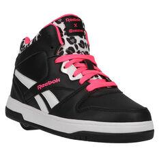 Reebok BB4500 Mid Heelys Black/Pink US 13, Black/Pink, rebel_hi-res