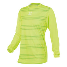 Umbro Goal Keeper Jersey Yellow M YTH, Yellow, rebel_hi-res