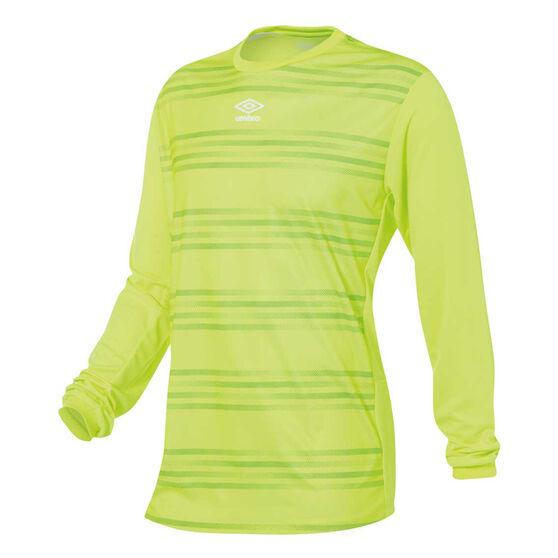 Umbro Goal Keeper Jersey, Yellow, rebel_hi-res