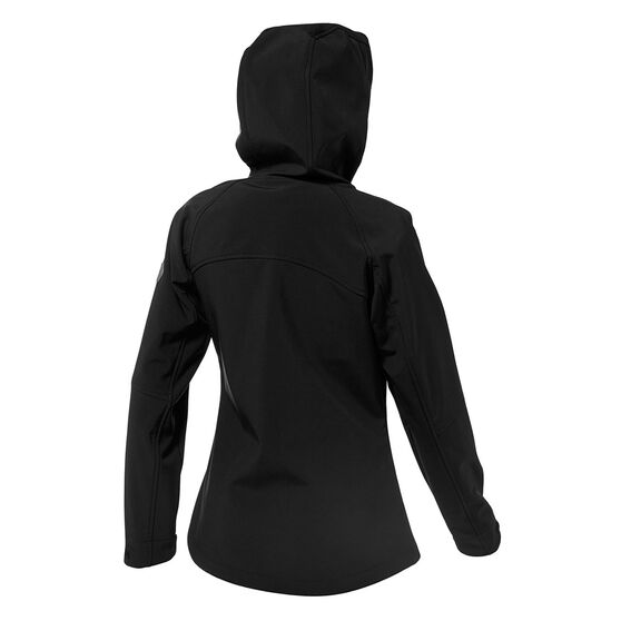 Tahwalhi Womens Panorama Soft Shell Jacket, Black, rebel_hi-res