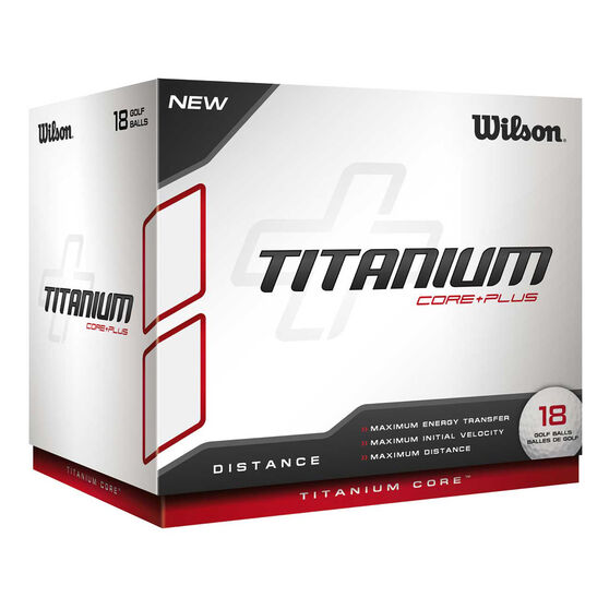 Wilson Titanium 18 Pack Golf Balls, , rebel_hi-res