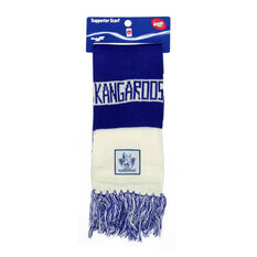 North Melbourne Kangaroos Bar Scarf, , rebel_hi-res