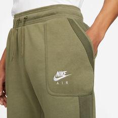 Nike Air Mens Sportswear Fleece Pants Green XS, Green, rebel_hi-res