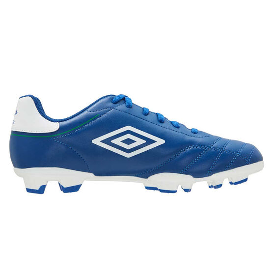 Umbro Classico VIII Kids Football Boots, Blue/White, rebel_hi-res