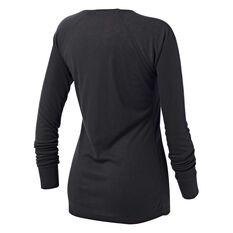 Tahwalhi Womens Peak Thermal Long Sleeve Top Grey 8, Grey, rebel_hi-res