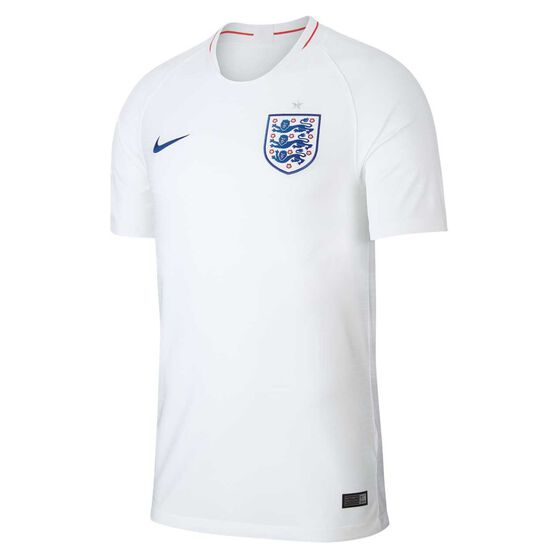 England 2018 Mens Home Football Jersey White S, White, rebel_hi-res
