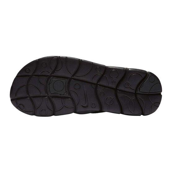 Nike Sunray Adjust 4 Junior Sandals, Black / White, rebel_hi-res