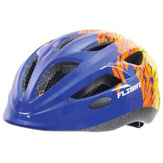 Flight Toddler Bike Helmet Blue / Yellow 51 to 55cm, , rebel_hi-res