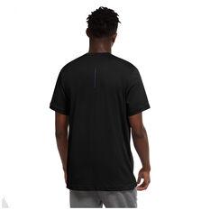 Nike Mens Dri-Fit Short Sleeve Graphic Training Tee Black S, Black, rebel_hi-res