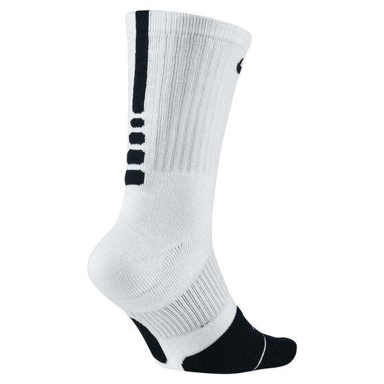 arpón Censo nacional Pintura  Nike Dry Elite 1.5 Crew Socks White / Black M | Rebel Sport