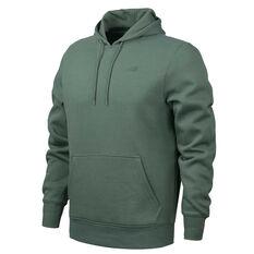 5caec61e51 New Balance Mens Volume Fleece Hoodie Green S, Green, rebel_hi-res