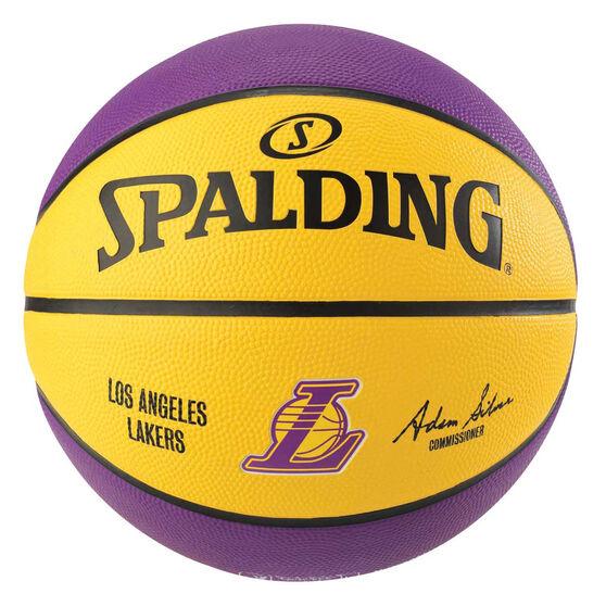 Spalding Team Series Los Angeles Lakers Basketball 7, , rebel_hi-res
