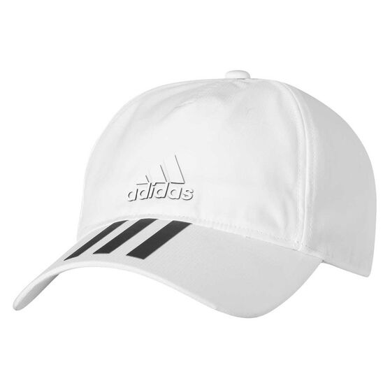 1a37d63f046 adidas Classic Six Panel Climalite Cap White   Black OSFM