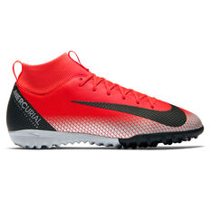 Nike Mercurial Superfly 6 Academy CR7 Junior Touch and Turf Boots Red / Black US 1, Red / Black, rebel_hi-res
