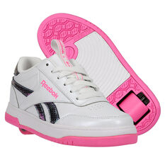 Reebok Court Low Heelys White/Pink US 13, White/Pink, rebel_hi-res