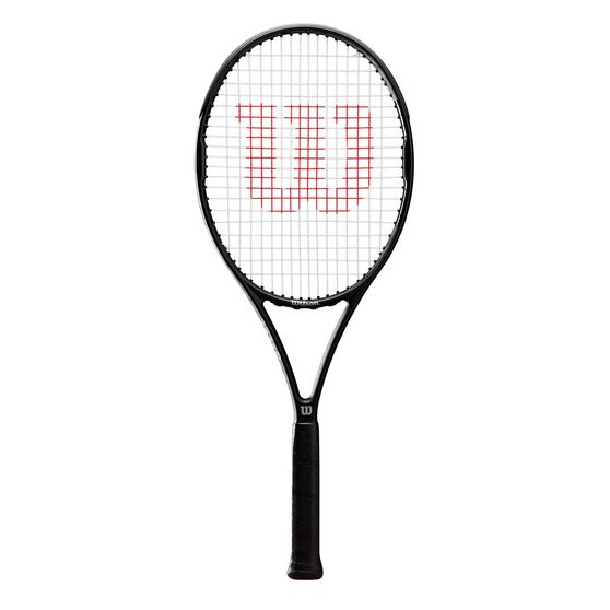 Wilson Pro Staff Precision Tennis Racquet, Black / Grey, rebel_hi-res