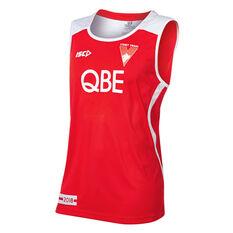 Sydney Swans 2018 Mens Training Singlet, , rebel_hi-res