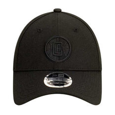 Los Angeles Clippers New Era Black on Black 9FORTY Snapback, , rebel_hi-res