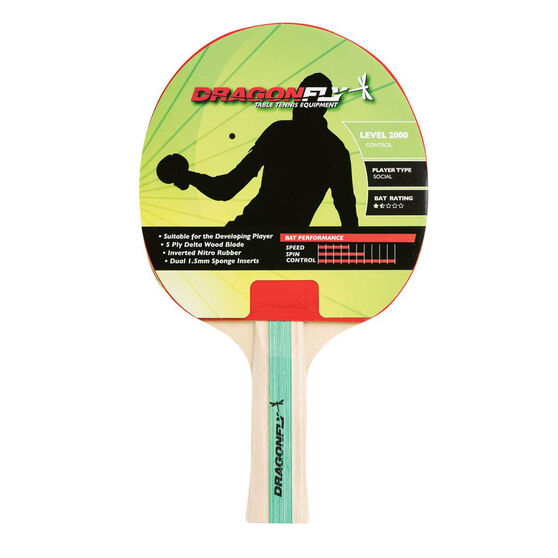 Dragonfly Player 2000 Table Tennis Bat, , rebel_hi-res
