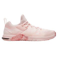 Nike Metcon Flyknit 3 Womens Training Shoes Pink / White US 6, Pink / White, rebel_hi-res