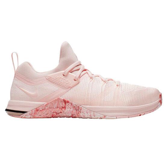 Nike Metcon Flyknit 3 Womens Training Shoes Pink / White US 6.5, Pink / White, rebel_hi-res