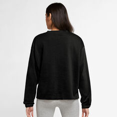 Nike Womens Sportswear Icon Clash Crew Sweater Black XS, Black, rebel_hi-res