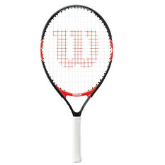 Wilson Federer 23in Junior Tennis Racquet Black / Red 23in, , rebel_hi-res