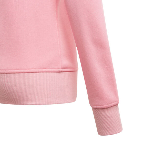 Adidas Girls VF Essential Big Logo Sweatshirt, Pink, rebel_hi-res
