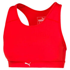 Puma Womens Adriana Lima Always Ready Sports Bra, Red, rebel_hi-res