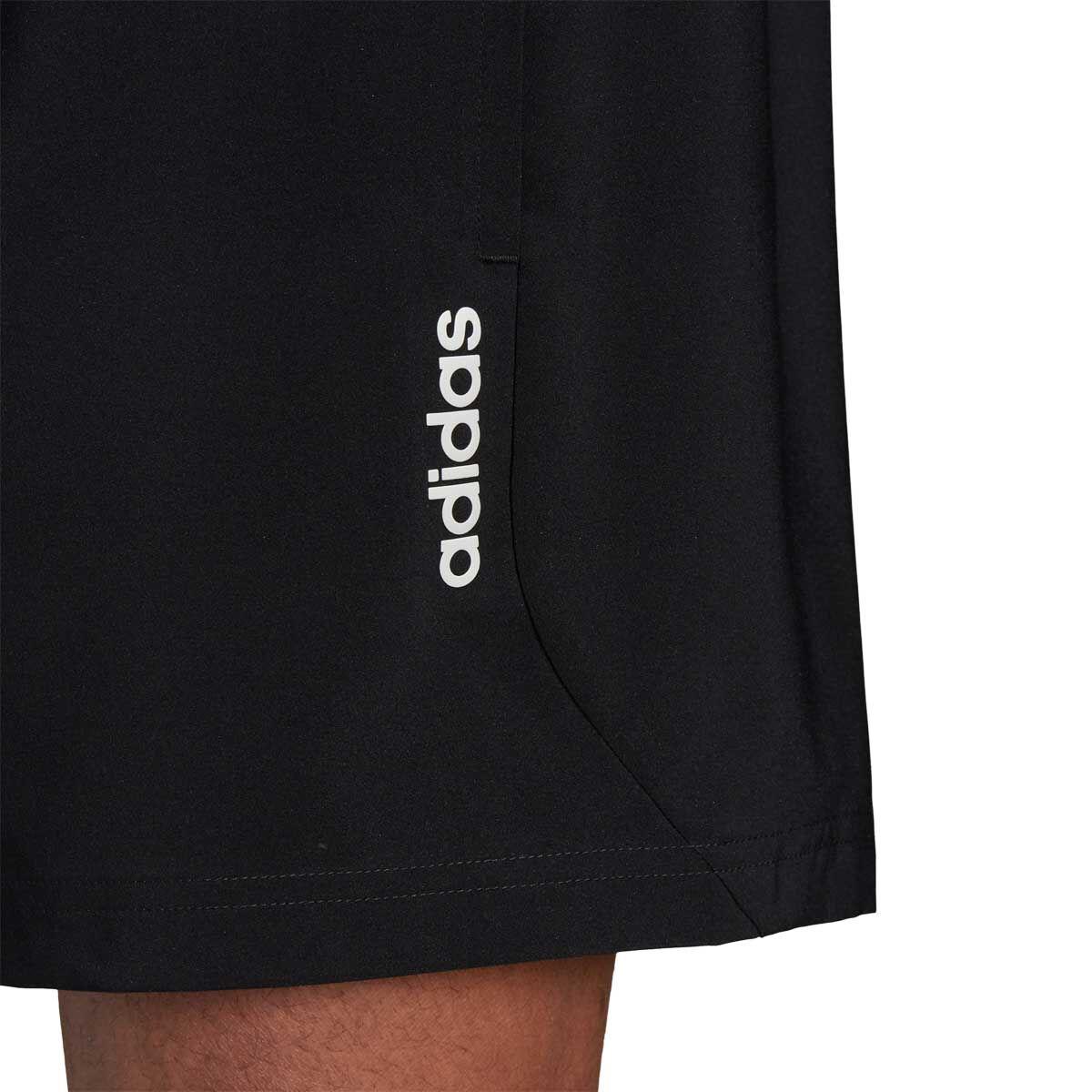 adidas Mens Essential Chelsea Shorts Black / White S Adult